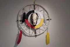 Henderson-Bear-Skull-Medicine-Wheel